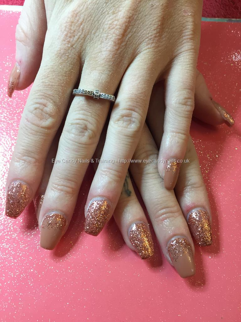 Social Build - Acrylic Nails, Nude And Rose Gold. Nail Technician ...