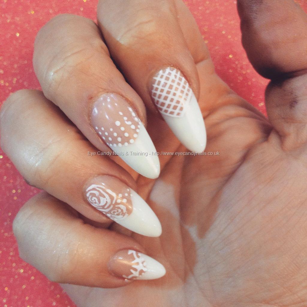Dev Guy Freehand Nail Art Designs Almond Nail Technician