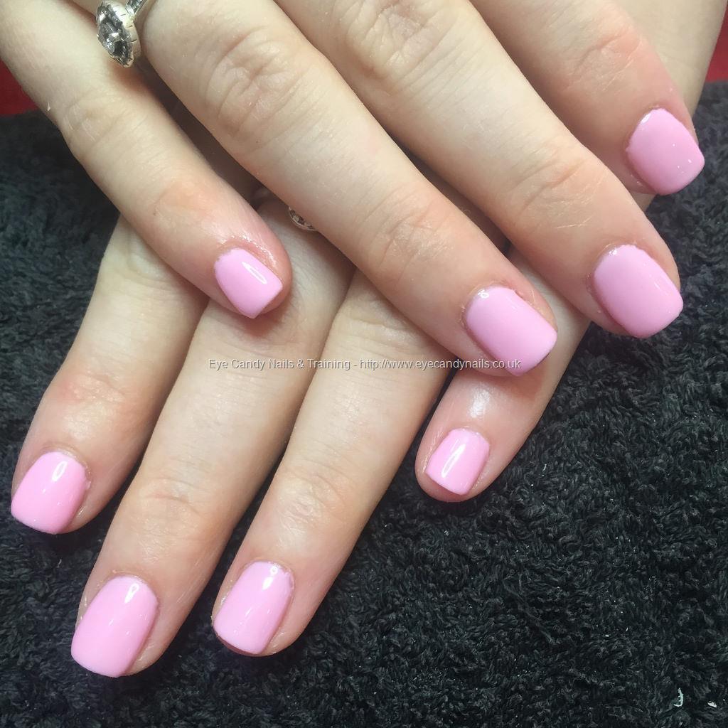 Social Build - Baby Pink Gel Polish On Natural Nails. Nail ...