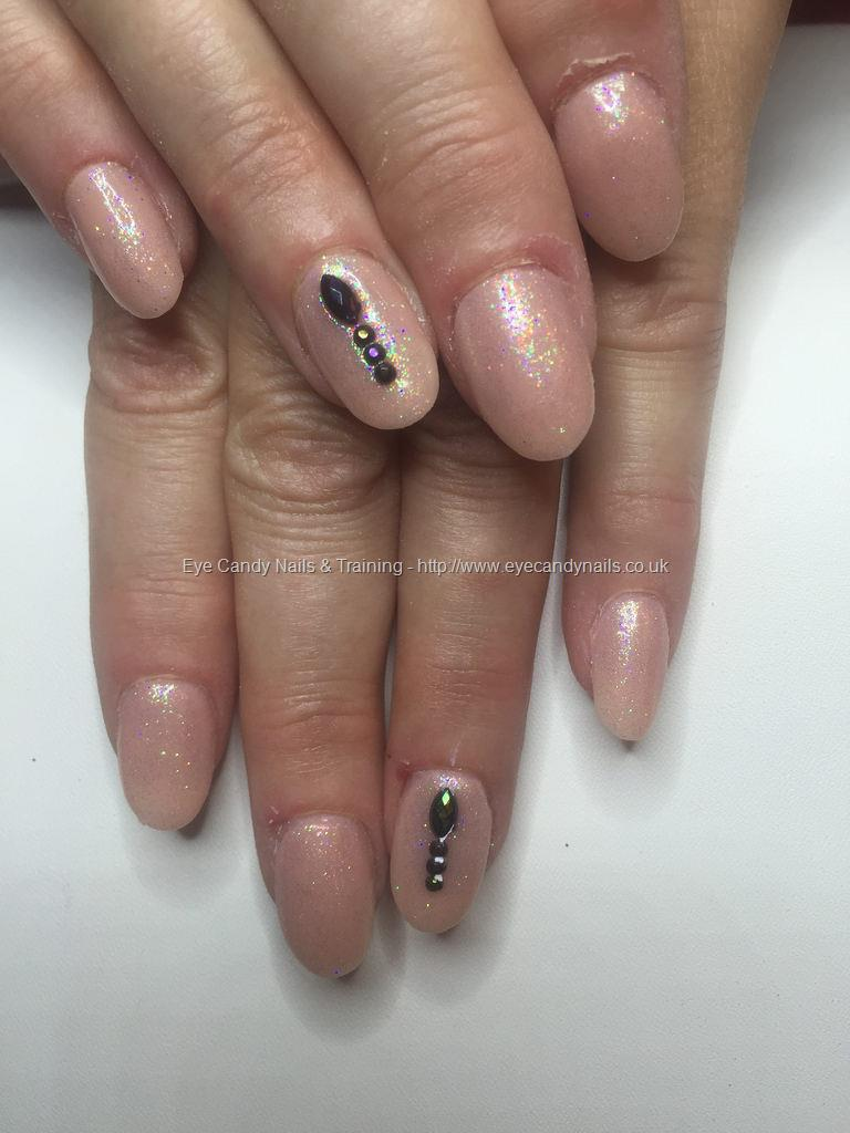 Dev Guy - Tapered Peach Blush Acrylics With Pink And White