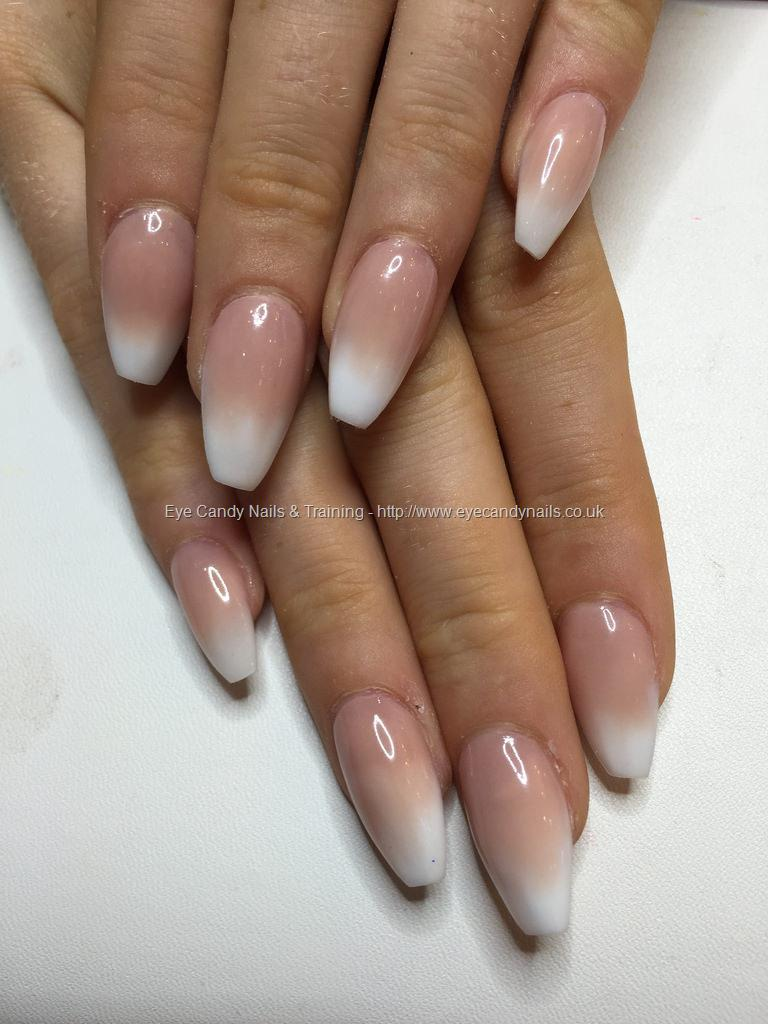 Social Build - Ballerina Baby Boomer/ Pink And White Ombré Acrylics ...