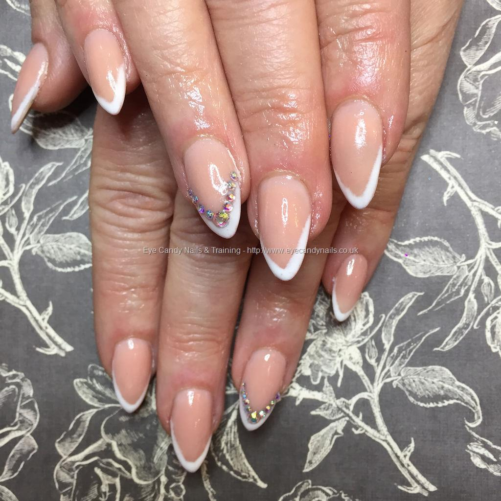 Social Build - Almond Acrylics With Peach Blush Acrylic With V ...