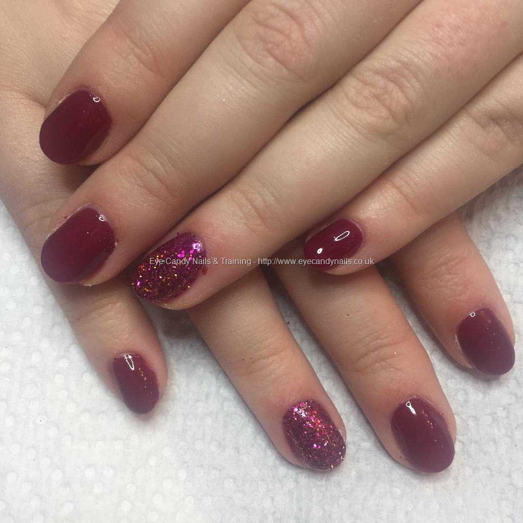 Glitter Gel Nail Polish: Truly Madly Deeply Gel Polish With Pink And