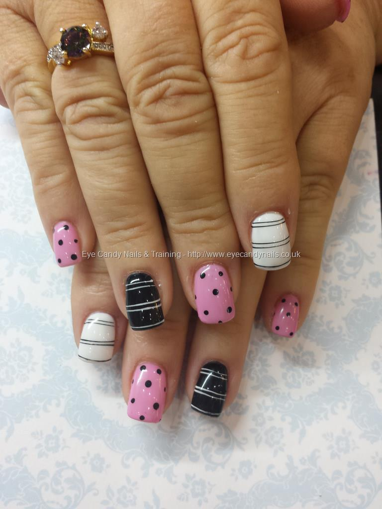 Pink & White Gel Nails - Page 2 - +9000 Summer Nail Designs