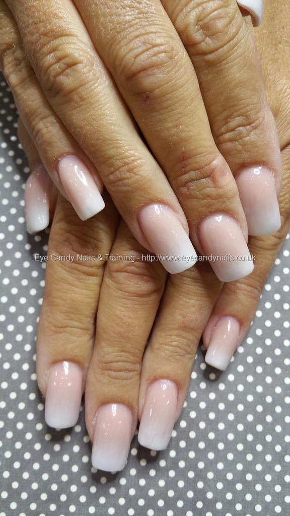 Social Build - Acrylic Baby Boomer Nails French Fade Ombre. Nail ...