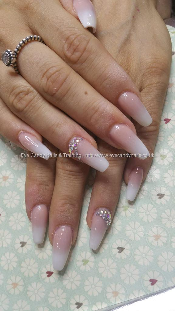 Social Build - Baby Boomer French Ombre Fade With Swarovski Crystals ...