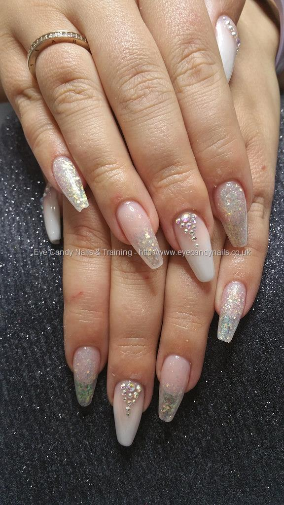 Social Build - French Ombre, Glitter And Crystals On Ballerina ...
