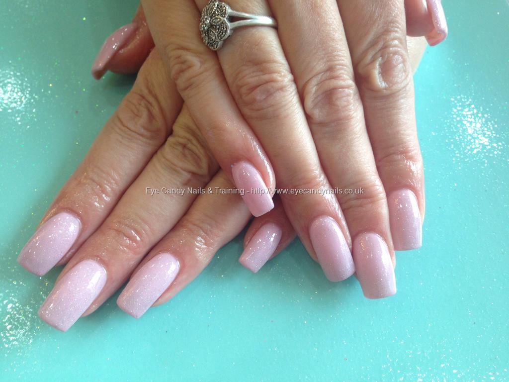Dev Guy - Acrylic Nails With Baby Pink Gelish Gel Polish ...