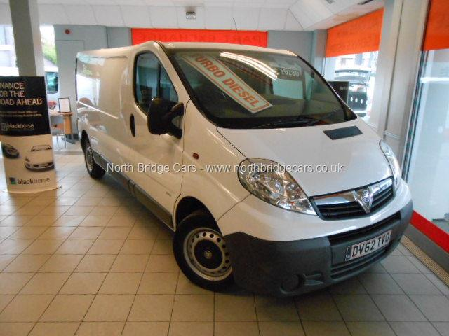Dev Guy - 2012 Vivaro 2 0CDTI [115PS] Van 2 9t, Alarm, Immobiliser