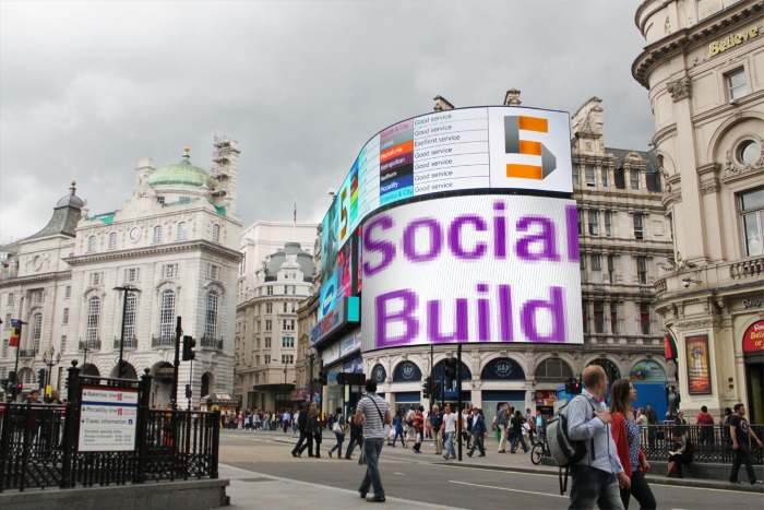 Social Build Publishes the Photo.