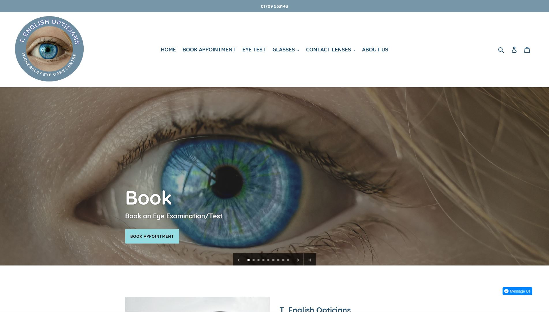 T English Opticians